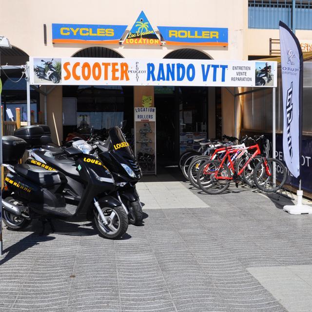 Loc'évasion - location vélos-scooters.